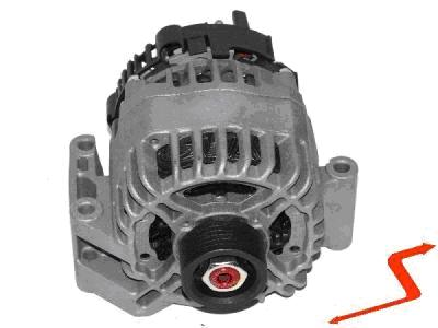 ALT006 ALTERNATOR FIAT 500 PUNTO DOBLO PANDA IDEA 1.3 JTD