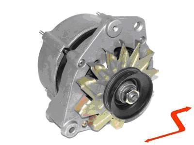 ALT050 ALTERNATOR 90 AMPER VW GOLF PASSAT LT JETTA CADDY