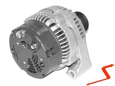 ALT051 ALTERNATOR MERCEDES C E KLASA 90 AMPER