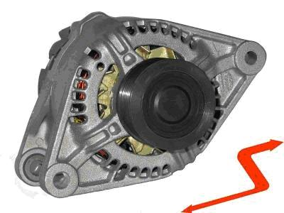 ALT058 ALTERNATOR STILO FIAT DOBLO PUNTO MULTIPLA 1.9 JTD