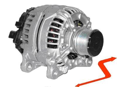 ALT062 Alternator VW Golf Polo Transporter 120Amper