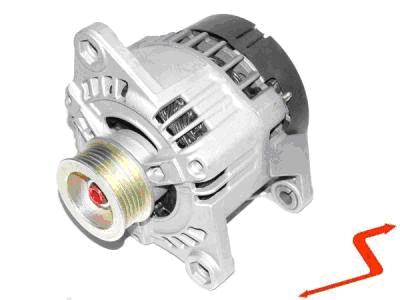 ALT066 ALTERNATOR CITROEN JUMPY 1.6 1.6i  100 AMPER