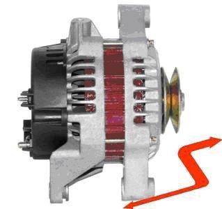 ALT185 Alternator OPEL ASTRA CORSA COMBO VECTRA 70 AMPER