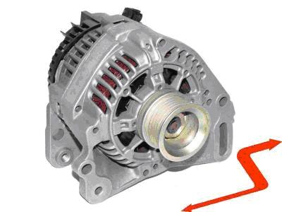 ALT209 Alternator VW GOLF PASSAT POLO CADDY VENTO