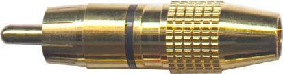 Cinch konektor zlacený - DVDK868