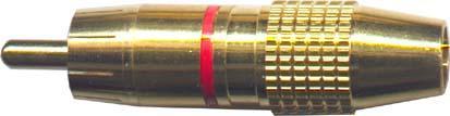 Cinch konektor zlacený - DVDK869