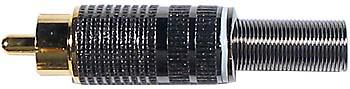 Cinch konektor zlacený - DVDK886