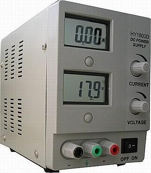 Laboratorní zdroj 0 - 18 V - GVDK865