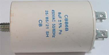 Rozběhový kondenzátor 8 uF - I968