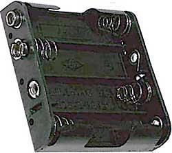 Držák baterie 4x AA - LVDK023
