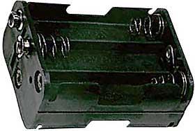 Držák baterie 6x AA - LVDK026
