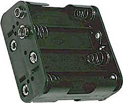 Držák baterie 8x AA - LVDK027