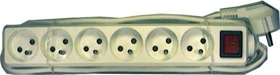 Prodlužovací kabel 10 m 4z.- LVDK130