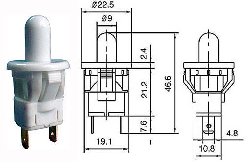 Dveřní rozpínač - LVDK301