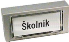 Tlačítko zvonkové - LVDK454