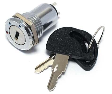 Přepínač s klíčem - LVDK505