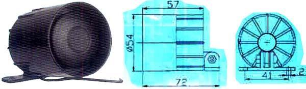 Siréna 105 dB - QVDK253
