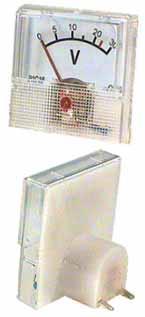 MP voltmetr 30 V 40 x 40 mm - RVDK061