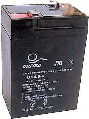 PB akumulátor 6 V / 4,5 Ah - RVDK831