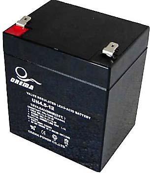 PB akumulátor 12 V / 4,5 Ah - RVDK842