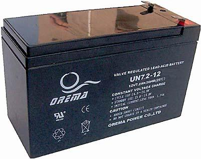 PB akumulátor 12 V / 7,2 Ah - RVDK843