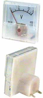 MP voltmetr 50 V 40 x 40 mm - RVDK059