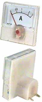 MP ampermetr 5 A 40 x 40 mm - RVDK065