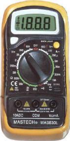MAS 830L multimetr - RVDK119