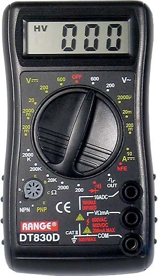 DT 830 D multimetr - RVDK156