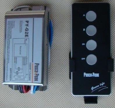 Dálkově ovládaný spínač 2 kanály 230V